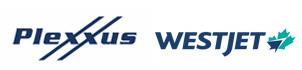 Plexxus and WestJet logo